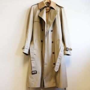 Brooks Brothers Double-Breasted Men's Trench Coat